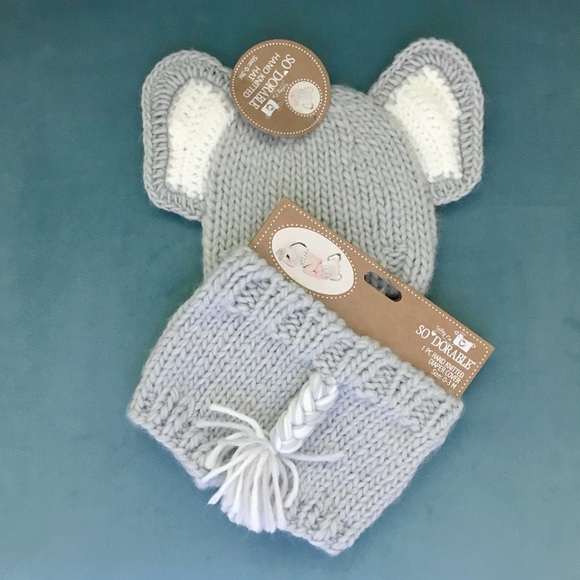 Elephant Baby Outfit, Baby Girl Elephant Outfit, Crochet Elephant ... | 580x580